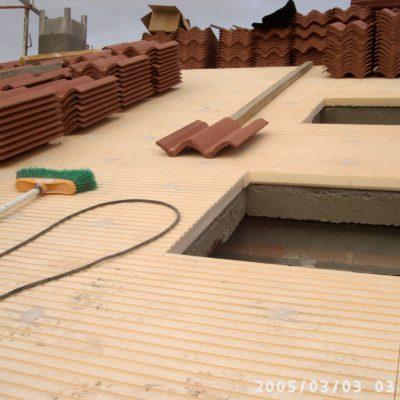 Reforma de tejado del chalet